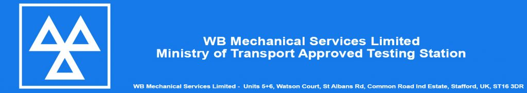 WB Mechanical Services - Ministry of Transport Approved Testing Station