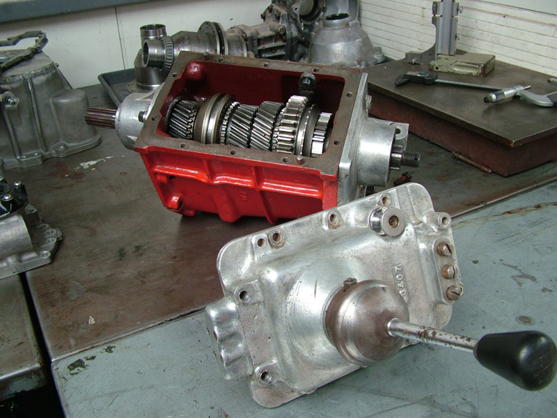 WB Specialise in Remanufacturing Vintage, Classic and Racing Gearboxes