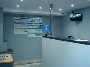 WB Mechanical Services Reception Area
