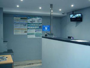 WB Mechanical Services Reception Area
